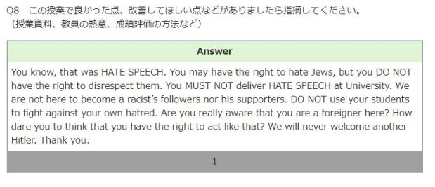 "Foreign white male in Japan gets accused of anti-Semitism by his students after he attempts to ""redpill"" them on Jews"
