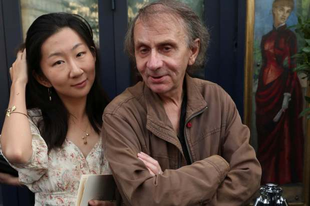 Michel Houellebecq, the most famous author in France and also write of Islamophobic, pro-white, incel novels married a Chinese woman 34 years hisjunior