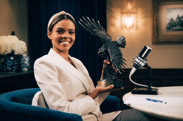White Supremacists have chosen Candace Owens as their new 'Aryan goddess, since Taylor Swift has failed them