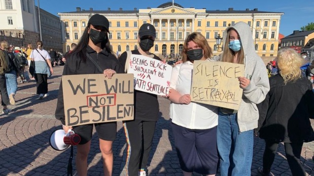 White Women Head Black Lives Matter Group in Finland